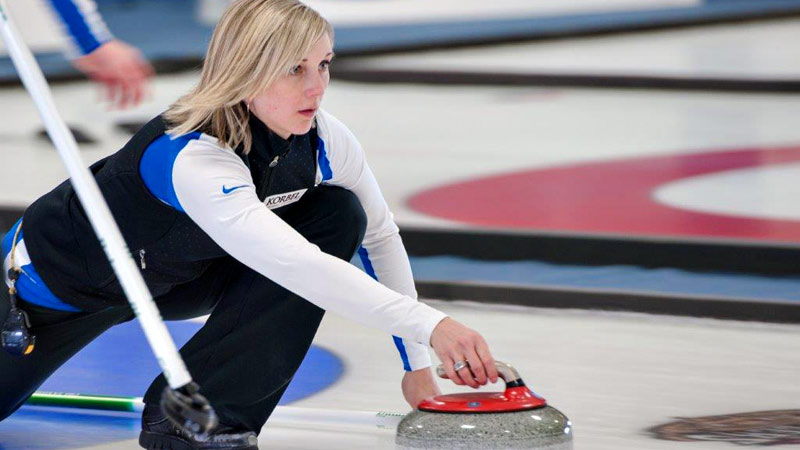 Nicole Joraanstad says the mental preparation is just as important as the physical preparation in curling.