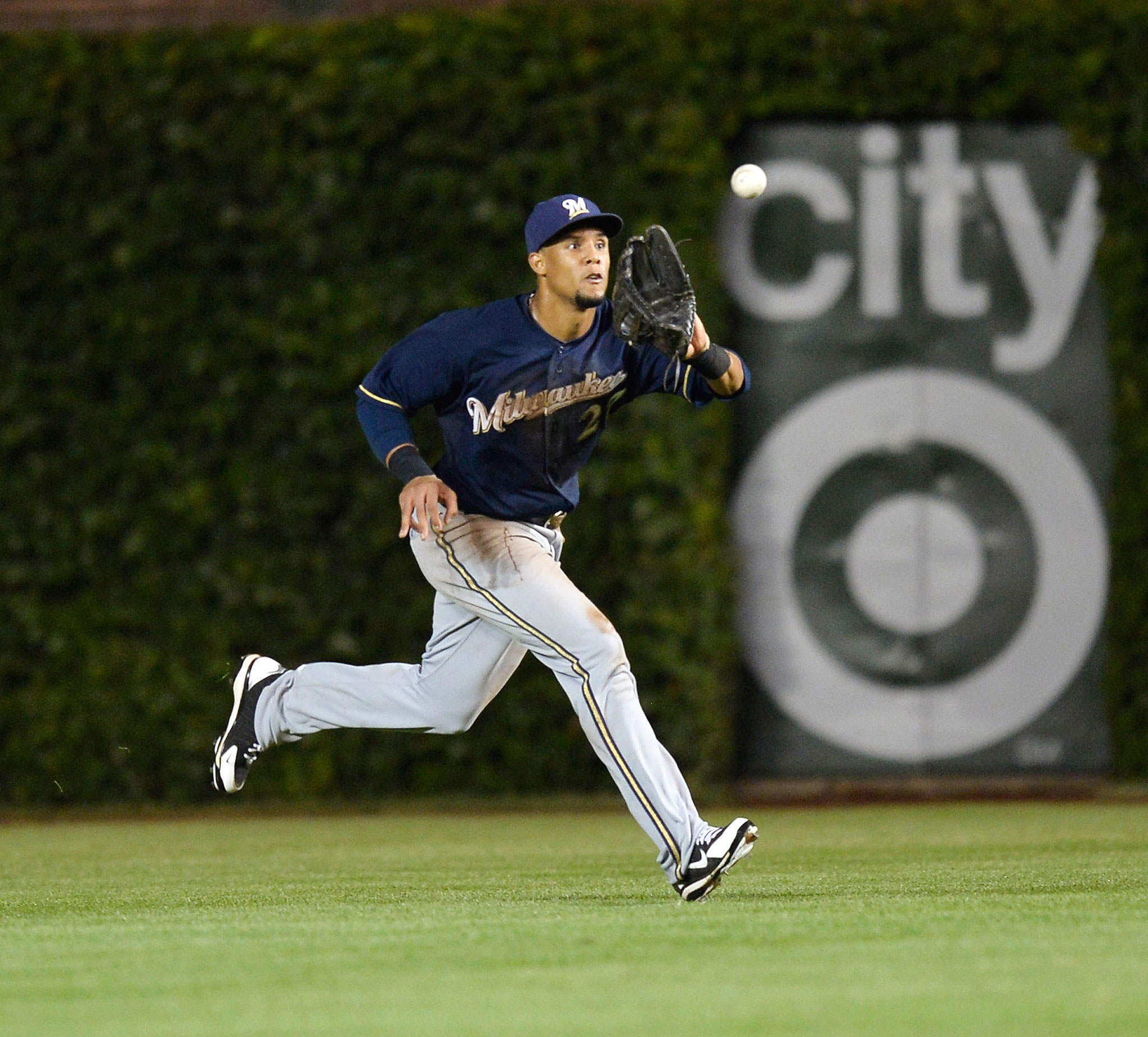 Center Field: Carlos Gomez