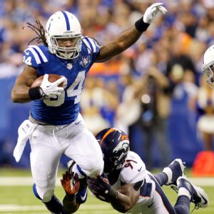 Trent Richardson has failed to impress in five games with the Colts, averaging a paltry 3.04 yards per carry, with just two touchdowns.