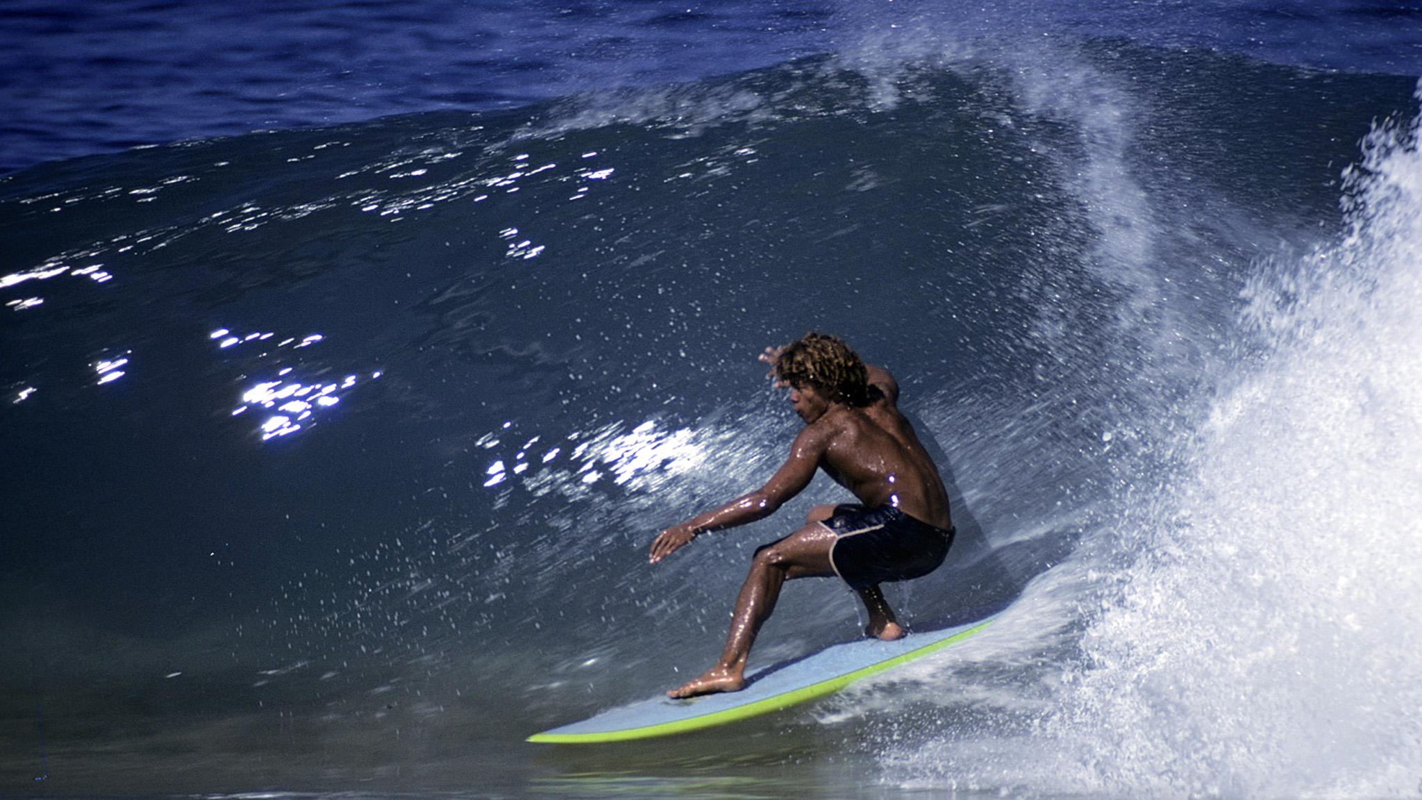Kaluhiokalani was an icon of surfing's shortboard revolution and the magic of Hawaii.