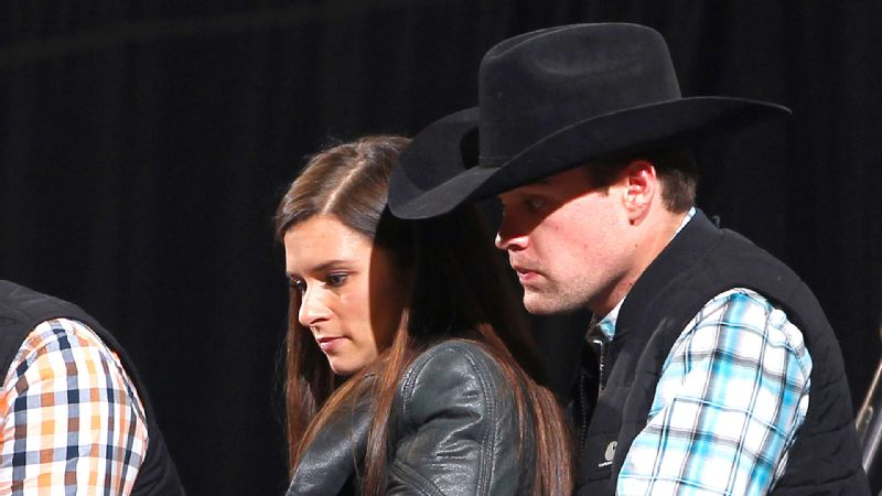 Amid rumors of their romance, Danica Patrick was spotted with Ricky Stenhouse Jr. at a rodeo on Jan. 19. Less than a week later, she announced they were a couple.