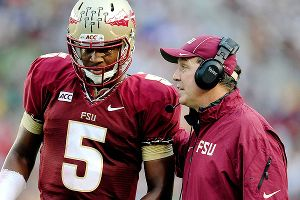 Jimbo Fisher and Jameis Winston