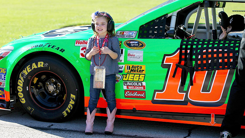 Though Danica Patrick downplays the gender records she has set, theres no doubting the impact her success has had on little girls.