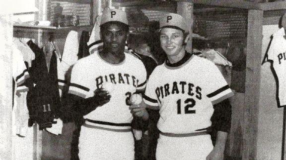 Vietnam veteran Chuck Goggin shared a special day with Roberto Clemente in 1972.