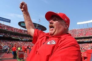 Andy Reid might be the most popular man in town.
