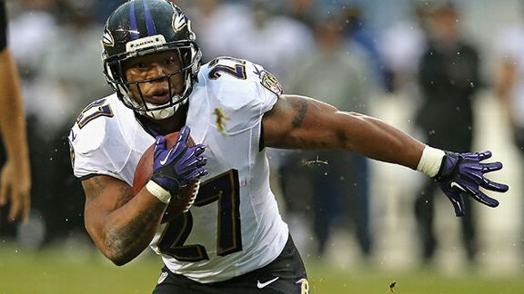 Will running behind what is expected to be an improved offensive line help Ray Rice find his old form?