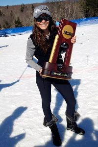 Brooke Wales helped lead Colorado to the NCAA skiing title earlier this year.