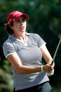 Gerina Piller was gunning for her first LPGA victory, but a missed birdie putt at 18 left her one shot short of forcing a playoff.