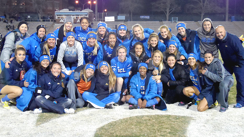 UCLA has reason to smile after taking down the last two national champions in the NCAA tournament just to get to the College Cup.