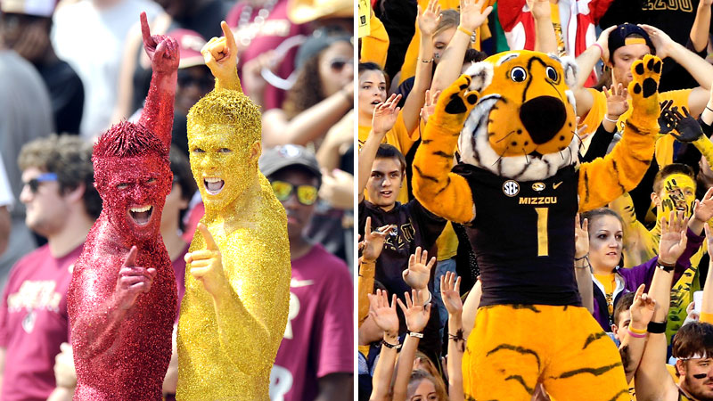 Florida State Seminoles and Missouri Tigers