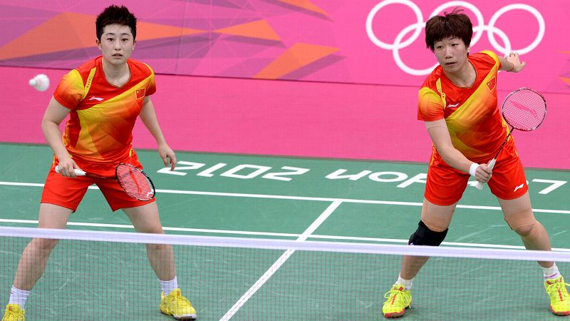 During the London Olympics, eight female badminton players -- including the worlds No. 1 pair Wang Xiaoli and Yu Yang -- were disqualified from competition for deliberately trying to lose matches so they could face easier opponents. The four pairs of players from China, South Korea and Indonesia had already qualified for the quarterfinals during the matches they were accused of throwing. Their obvious lackluster play drew boos from spectators and warnings from officials and resulted in a hearing the next day. Despite appeals from some of the women, none of the pairs were reinstated to play. (Photo: Adek Berry/Getty Images)