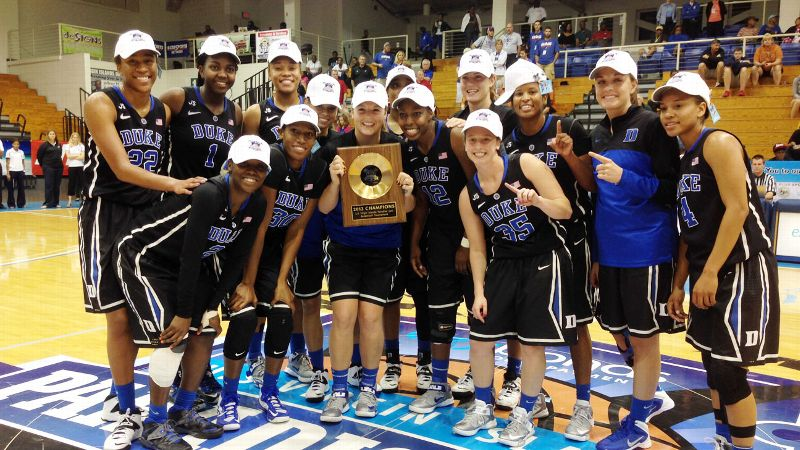 With three victories in three games, Duke won the Paradise Jam Tournament and a piece of hardware.
