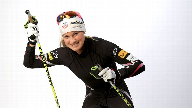 Being on the high school team was what really made me fall in love with skiing and getting to do it alongside my friends was what made me fall in love with training, Jessie Diggins says.