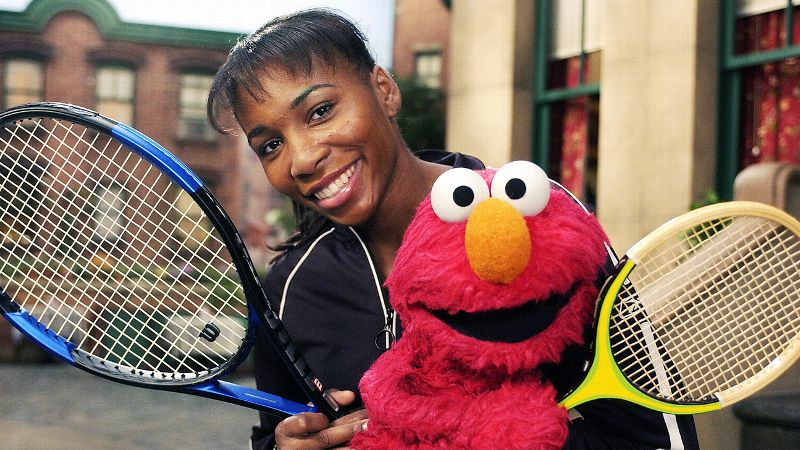 Venus Williams | Sesame Street | 2004