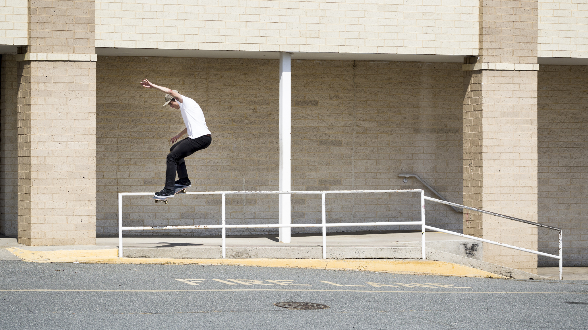 Feeble grind from Daryl Angel, as seen in the Nike SB Chronicles Volume 2 video.
