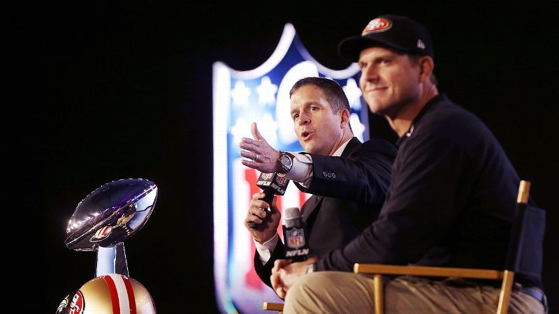 Among the highlights of 2013 was the Harbaugh brothers Super Bowl scene.