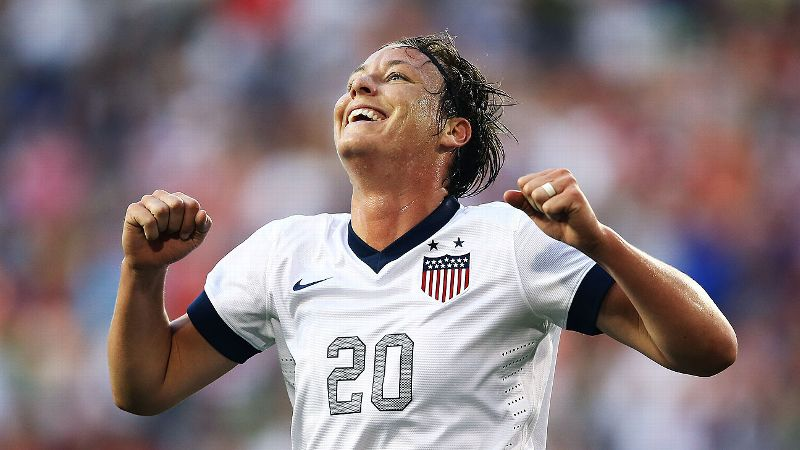 Abby Wambach has scored 19 of her 165 career goals in nine Algarve Cup tournaments.
