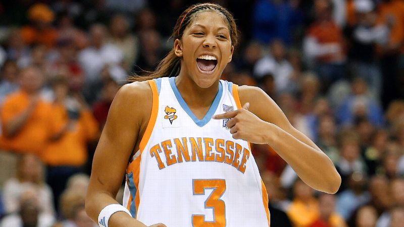 The two-time NCAA basketball champion (2007, 2008) had her jersey retired at Tennessee in 2014.