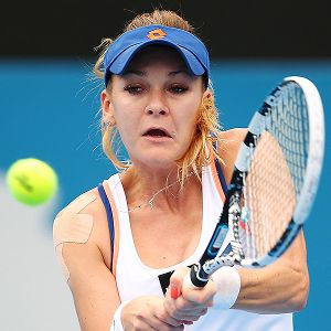 Agnieszka Radwanska played a remarkable quarterfinal match, but then fell flat in the semis.