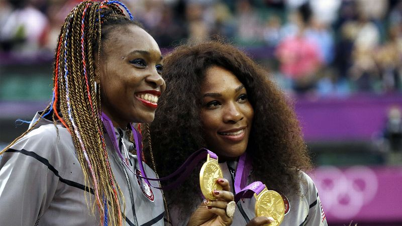 Sisters Venus and Serena Williams have been two of the most dominant forces in tennis since the late 1990s. Venus has won seven Grand Slam singles titles and Serena has claimed 17, and the two have won 13 Grand Slam doubles titles and three Olympic gold medals as a pair.
