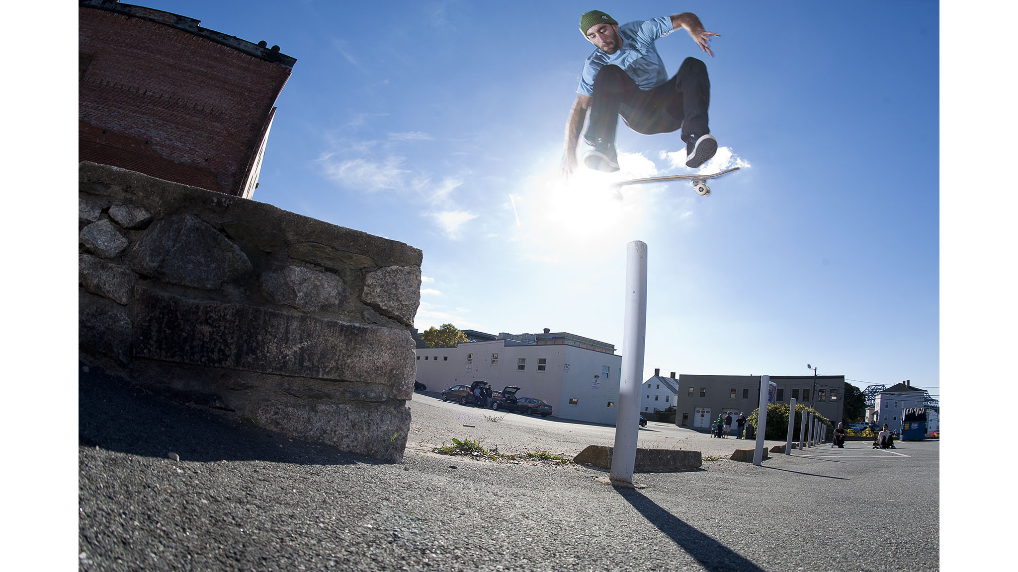 Anthony Shetler, backside kickflip.