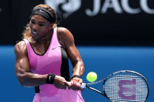 Serena Williams improved her record to 60-8 at Melbourne Park with Wednesday's win.