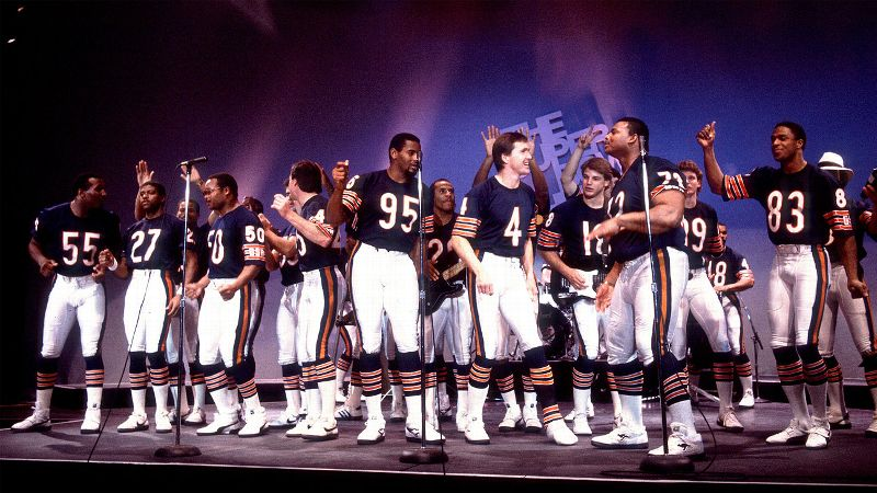 If you've ever rolled your eyes at a cheesy team anthem, you only have these guys to thank. Recorded three months prior to the Bears' 1986 Super Bowl win, it became a a href=http://www.break.com/video/ugc/chicago-bears-super-bowl-shuffle-rap-song-443793 target=new cultural phenomenon/a. It peaked at No. 46 on the Billboard charts and -- wait for it -- even earned a Grammy nomination for best R&B performance by a duo or group. Its popularity spawned countless imitators from pro and college teams across the country looking to score equal success. And can you blame them? With lyrics like, There's not one here that does it like me/My Super Bowl Shuffle will set you free, it must have seemed like a relatively easy process. (Photo: Paul Natkin/Getty Images)