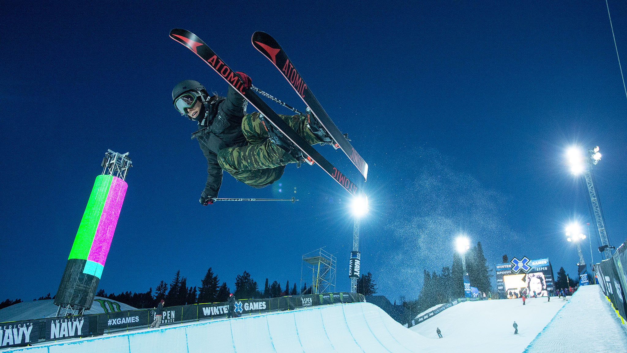 Angeli VanLaanen returned to X Games Aspen in January after three years off from competition due to Lyme.