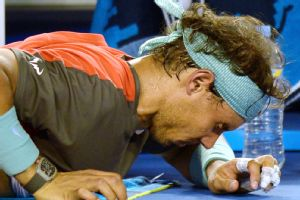 The irony of Rafael Nadal's injury is that it almost brought down Stanislas Wawrinka too.