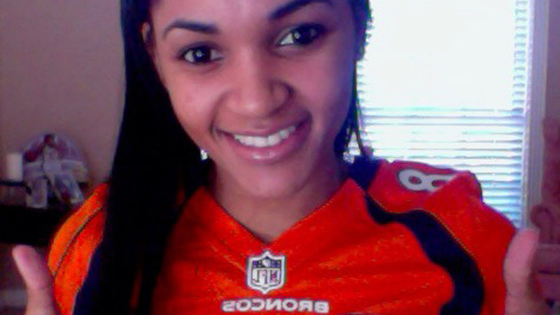 Denver's Von Miller will miss the Super Bowl because of an injury, but Sydney Carter will still be showing her support.