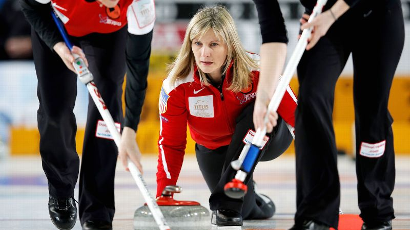 Three-time Olympian Erika Brown grew up on the curling rinks of Wisconsin.
