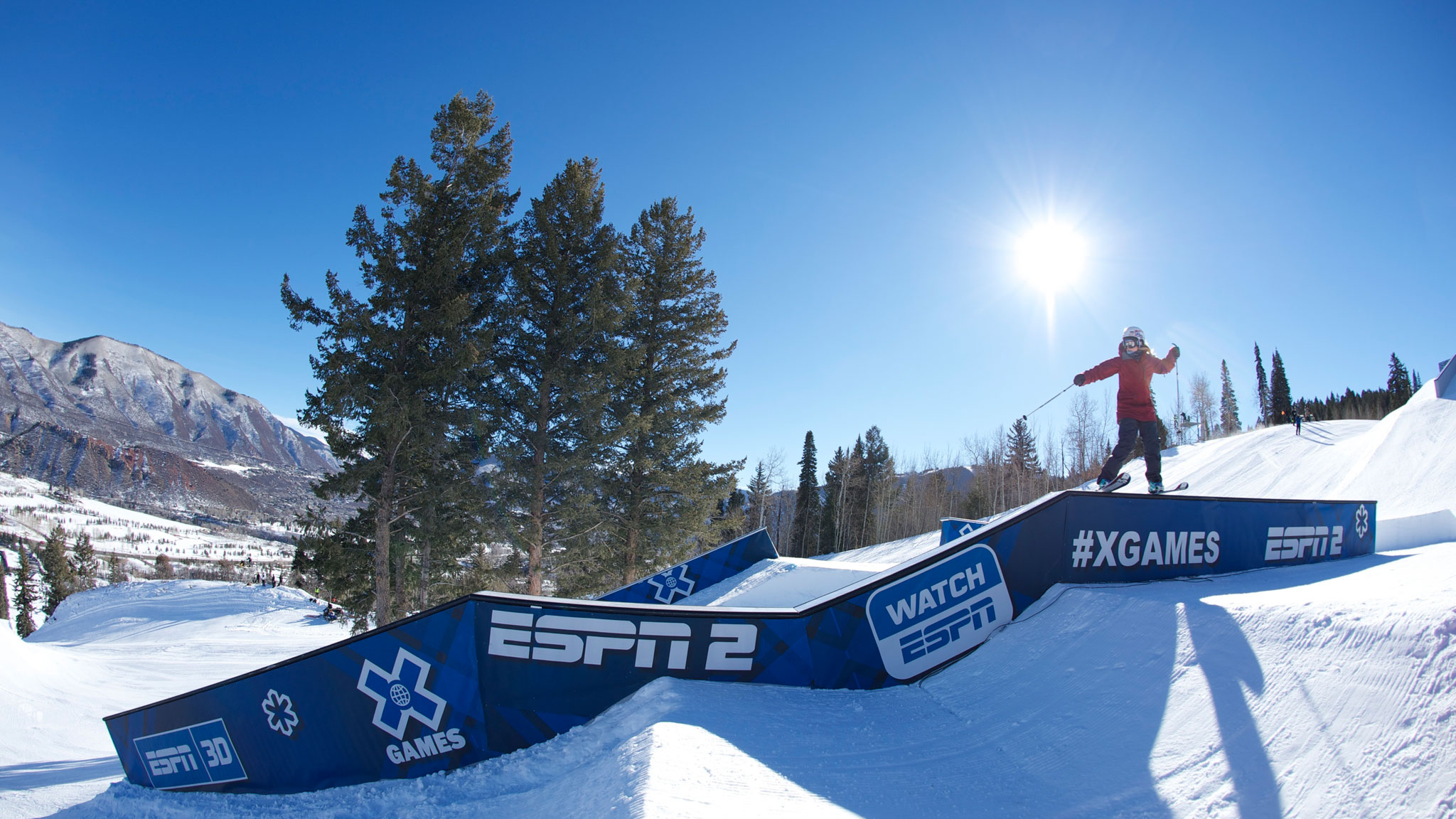 Anna Segal didn't compete at X Games Aspen this year, but she will be competing in slopestyle in Sochi.