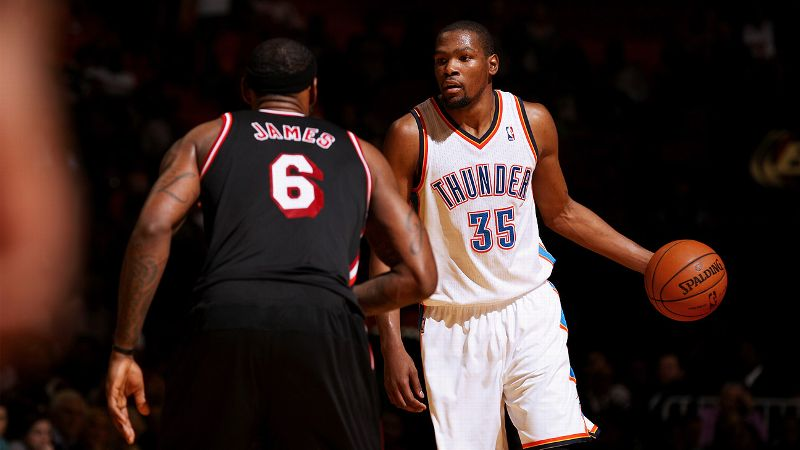 Kevin Durant and LeBron James both described Wednesday night's matchup as fun.