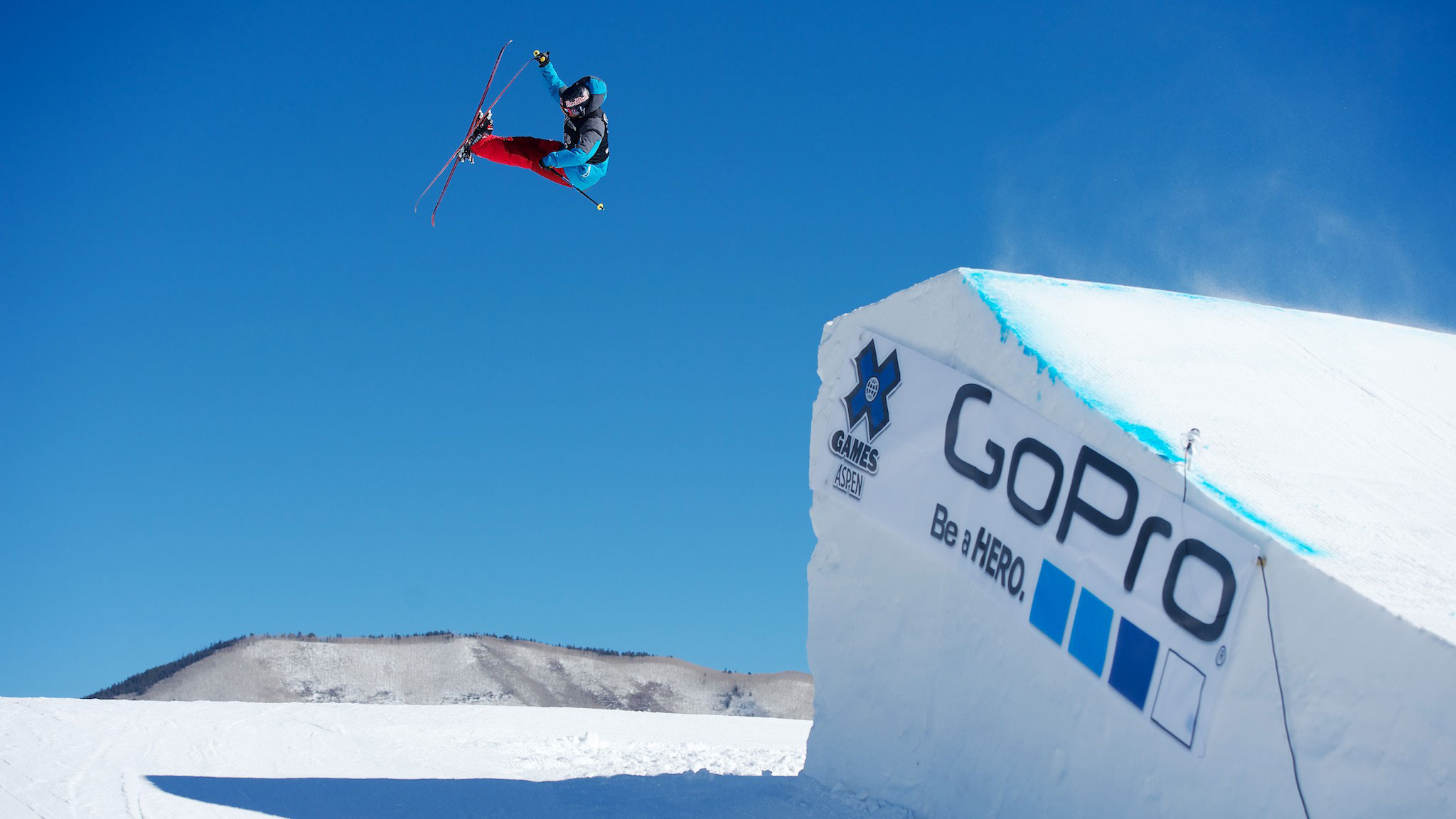 PK Hunder from Norway will be competing in ski slopestyle at the Winter Olympics after a recent knee injury.