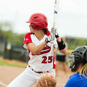 Jenny Gilbert has transformed herself from free-swinging slap hitter to selective power hitter at Ball State.