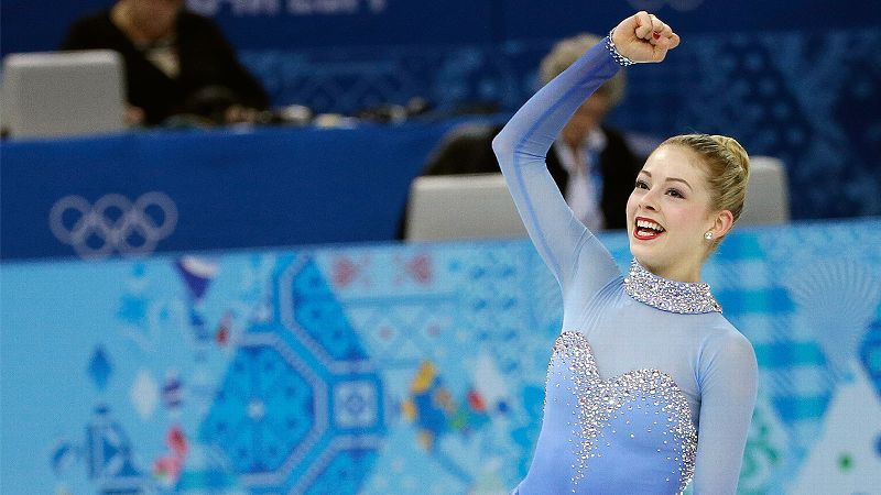 Feb. 9: W silver medalist Gracie Gold