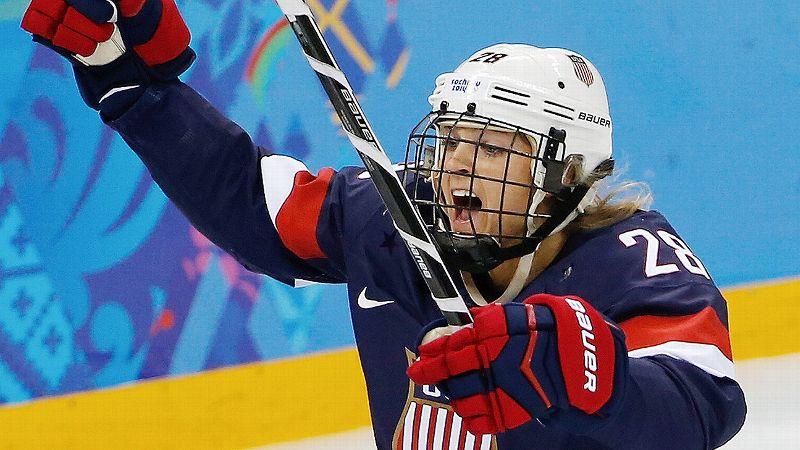 Feb. 10: W silver medalist Amanda Kessel