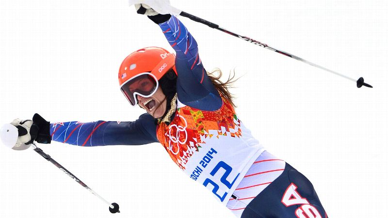 With a bronze in the super-combined, Julia Mancuso picked up her fourth career Olympic medal in Alpine skiing. No other American woman has won more than two. I had a great downhill run and knew there was nothing to lose, said the 29-year-old Mancuso, who led after the downhill portion. i(Photo: Getty Images)/i