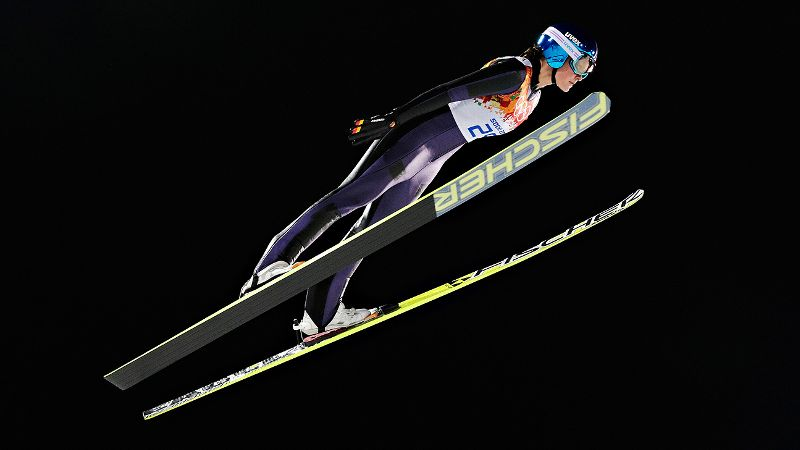 The 22-year-old German wasn't considered one of the favorites going into the inaugural women's ski jumping competition at the Olympics, but Carina Vogt certainly rose to the occasion. Vogt, who has never even won a World Cup event, claimed the first Olympic gold medal in her sport's history.