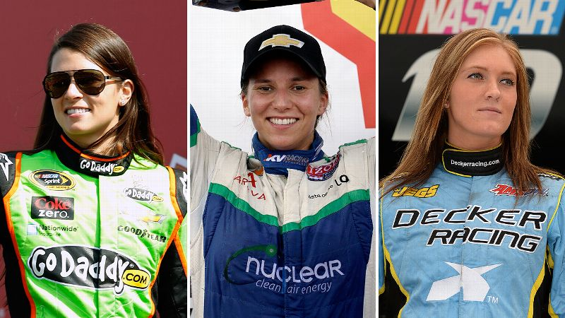 Danica Patrick and Simona de Silvestro carry hopes for the present, while Paige Decker is an up-and-coming driver.