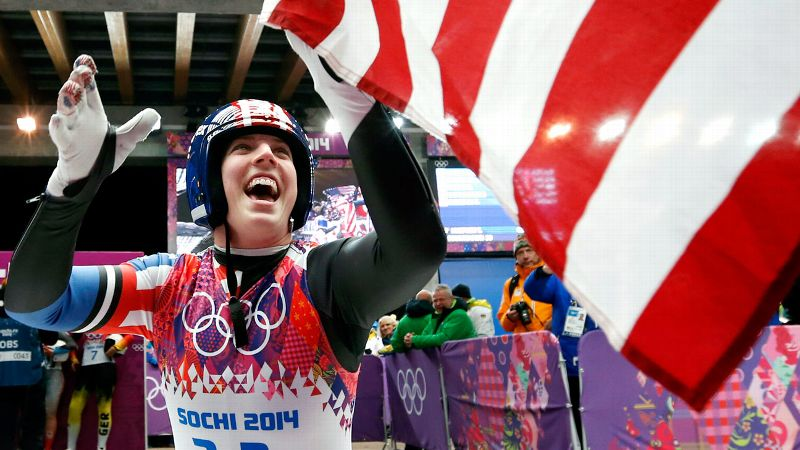 Hamlin became the first American to win a medal in singles luge when she took home the bronze in Sochi. Just how big of a deal is that? The Associated Press declared it a feat that will surely go down as perhaps the greatest moment in USA Luge history. So yeah, it's kind of momentous.  (Photo: Kevin Jairaj/USA TODAY Sports)
