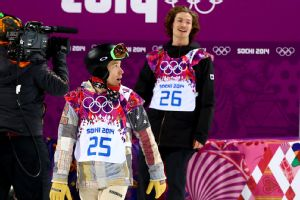 Shaun White was on the outside looking in after Iouri Podladtchikov won gold in the men's halfpipe event.