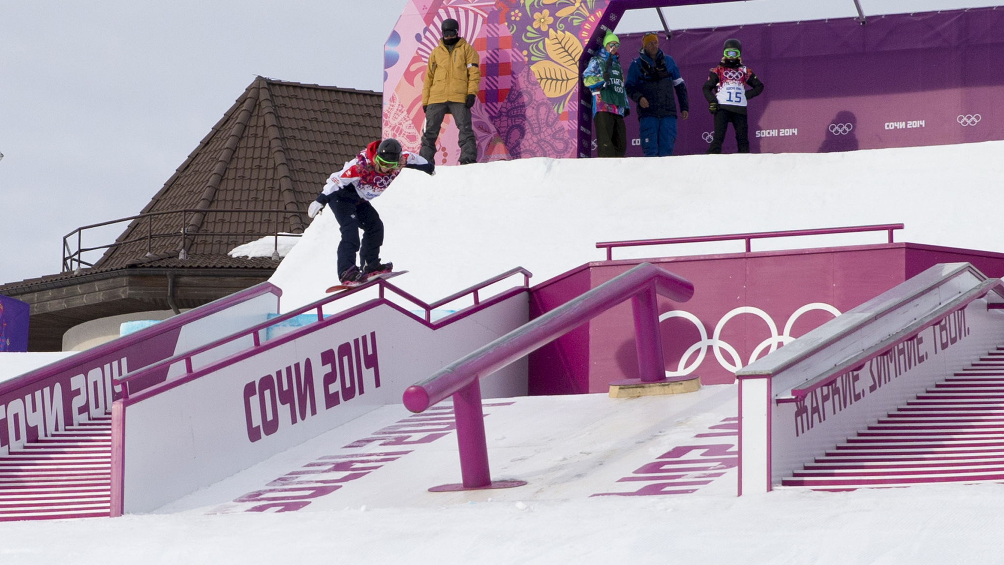 Jenny Jones ~ Slopestyle bronze