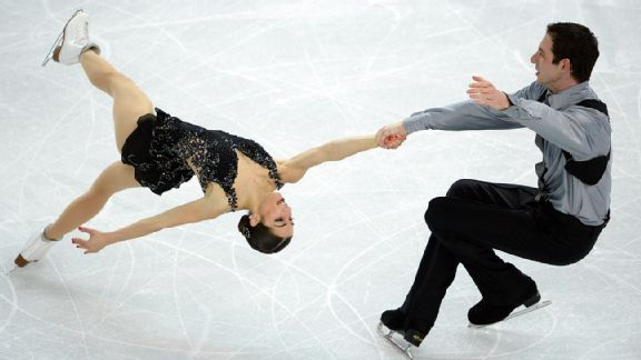 The two-time reigning U.S. champions Marissa Castelli and Simon Shnapir finished ninth in the Sochi pairs competition.
