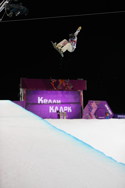 Kelly Clark ~ Halfpipe bronze