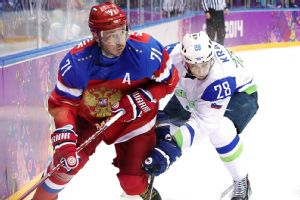 Ilya Kovalchuk knows his Russian team was feeling the jitters in its opening game, but hopes that will change against the U.S.