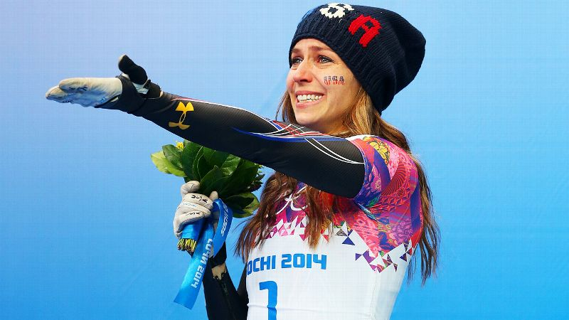 Winner: Noelle Pikus-Pace | Skeleton