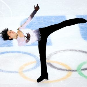 Yuzuru Hanyu was so sad after his two falls on the second night of men's figure skating, but his scores proved good enough to capture the first men's gold medal in the event for Japan.