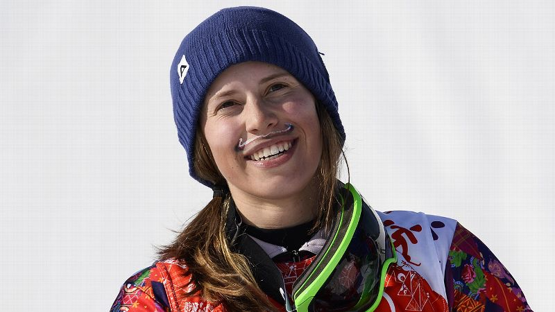 Now that's one lucky mustache. Too bad all the other snowboardcross racers didn't get to appreciate it since they spent most of the time looking at the back of Eva Samkova's rapidly distancing head. Samkova, who painted the colors of the Czech Republic flag above her lip, absolutely shredded the competition to win her country's first ever snowboard medal. I just wanted to be confident with myself, Samkova said. But gold, I couldn't imagine this. iPhoto: Franck Fife/AFP/Getty Images /i