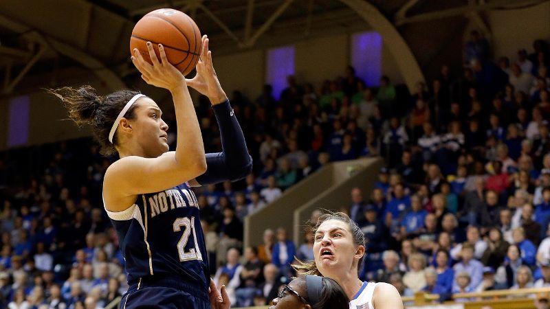 Kayla McBride, Notre Dame, 5-11, G, sr.